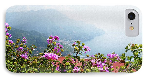 Amalfi Coast View From Ravello Italy  IPhone Case