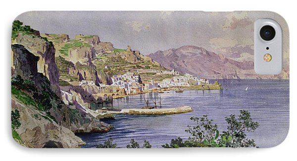 Amalfi Phone Case by Ludwig Hans Fischer
