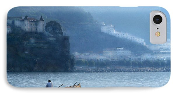 IPhone Case featuring the photograph Amalfi To Capri. Italy by Jennie Breeze