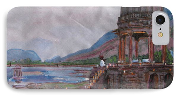 IPhone Case featuring the painting Amanbagh Alwar by Vikram Singh