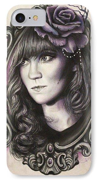 Amanda Denis - Tribute Portrait  IPhone Case