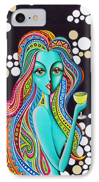 IPhone Case featuring the painting Amanda  by Joseph Sonday