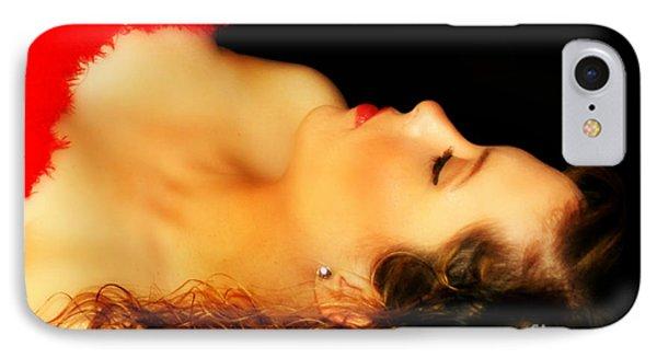 Amanda's Silhouette IPhone Case