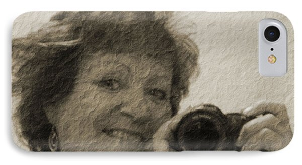 IPhone Case featuring the photograph Amateur by Maria  Disley
