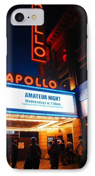 Apollo Theater iPhone 7 Case - Amateur Night by James Kirkikis