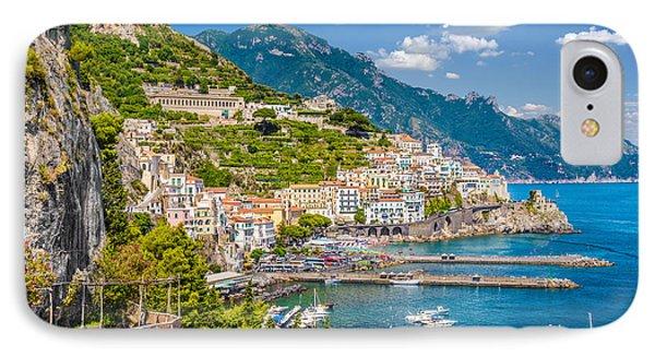 Amazing Amalfi IPhone Case by JR Photography
