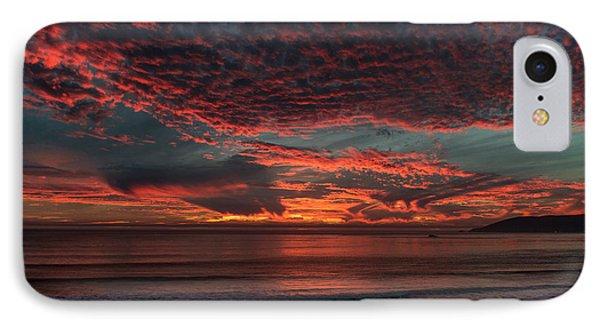 Amazing Blazing Sunset IPhone Case