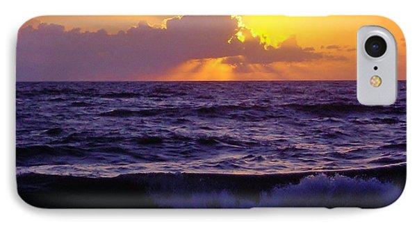 Amazing - Florida - Sunrise IPhone Case by D Hackett