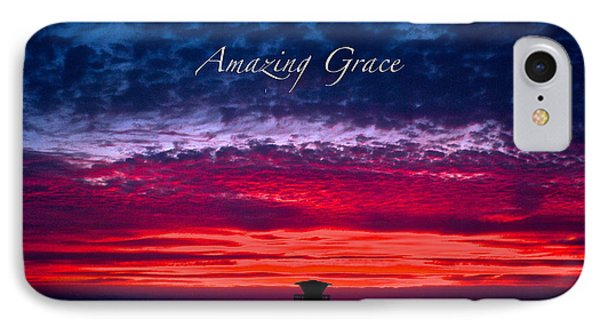 IPhone Case featuring the photograph Red Sky At Night by Margie Amberge