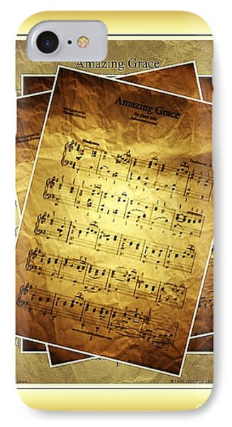 Amazing Grace In Browns IPhone Case by Julie Dant
