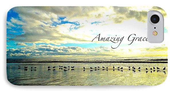 IPhone Case featuring the photograph Amazing Grace Sunrise 2 by Margie Amberge