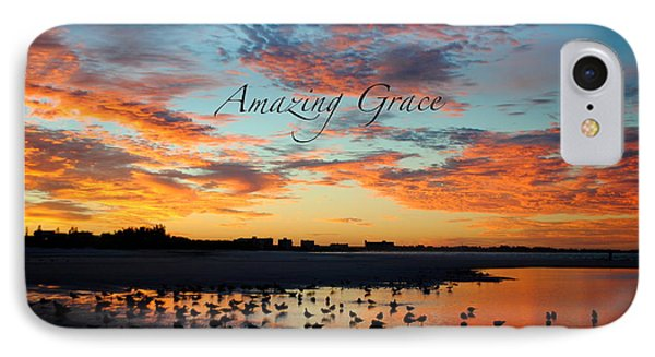 IPhone Case featuring the photograph Amazing Grace On Siesta Key by Margie Amberge