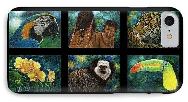 Amazon Series Collage IPhone Case by Sandra LaFaut