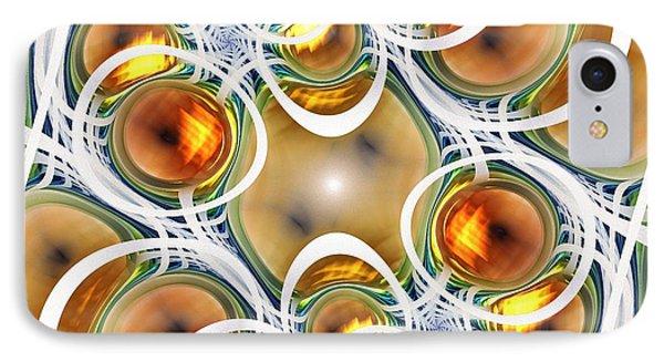 Amber Clusters IPhone Case by Anastasiya Malakhova