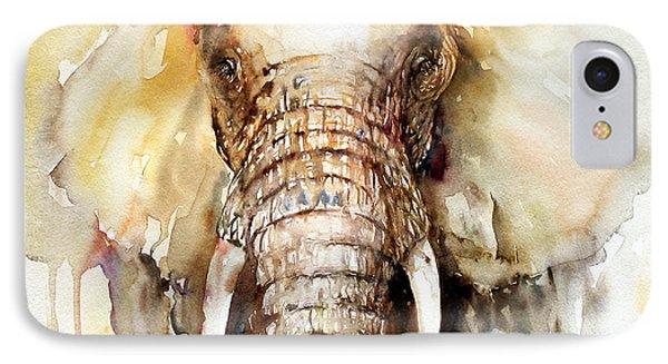 Amber Elephant IPhone Case