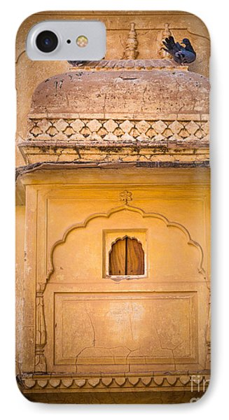Amber Fort Birdhouse IPhone Case by Inge Johnsson