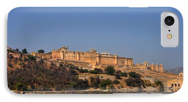 Amber Fort Jaipur Rajasthan India IPhone Case by Diane Lent