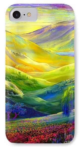 Wildflower Meadows, Amber Skies IPhone 7 Case