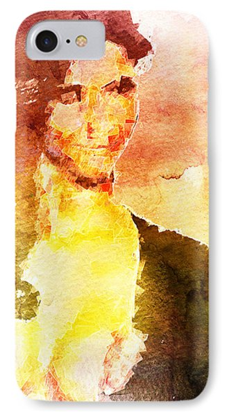 Ambiguous Woman IPhone Case