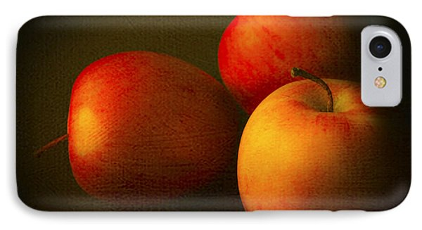 Ambrosia Apples IPhone Case by Theresa Tahara