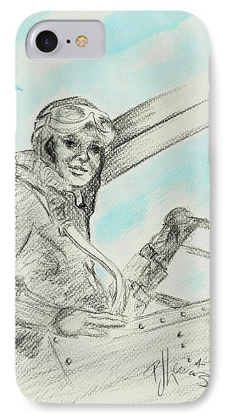 Amelia's Ghost IPhone Case by P J Lewis
