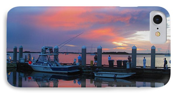 IPhone Case featuring the photograph Amelia's Marina by Paula Porterfield-Izzo