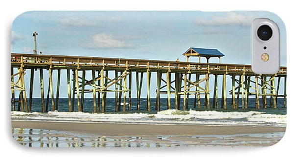 IPhone Case featuring the photograph Amelia's Pier by Paula Porterfield-Izzo