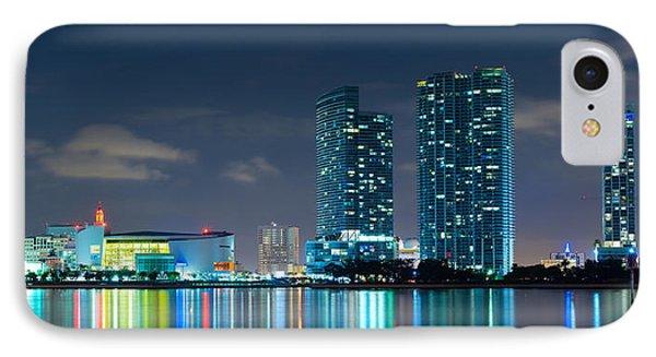 American Airlines Arena And Condominiums IPhone Case