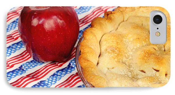 American As Apple Pie IPhone Case by Pattie Calfy