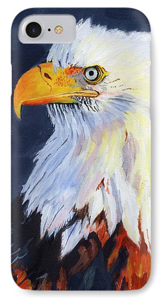 American Bald Eagle Phone Case by Mike Lester
