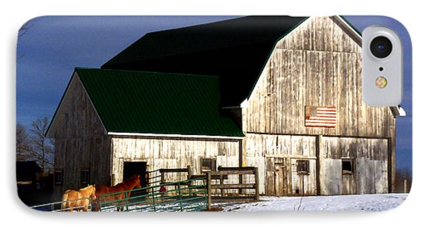 American Barn IPhone Case by Desiree Paquette