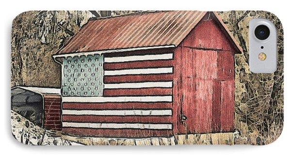 American Barn Phone Case by Trish Tritz