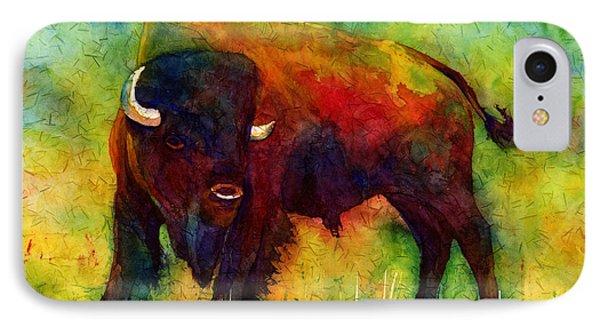 American Buffalo IPhone Case by Hailey E Herrera