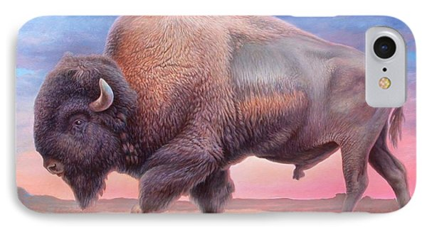 American Buffalo IPhone Case by Hans Droog