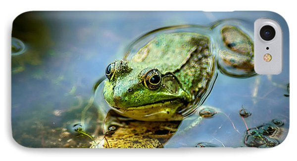 American Bull Frog IPhone Case by Optical Playground By MP Ray