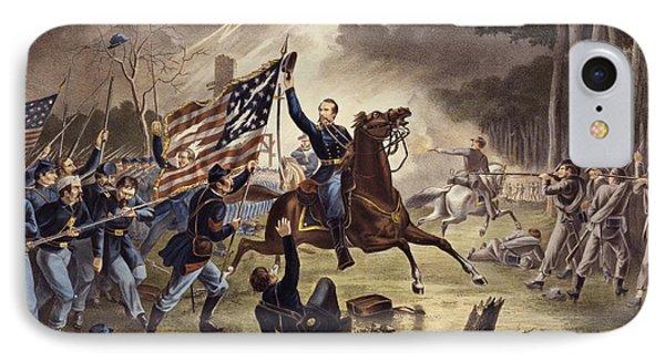 American Civil War General   Philip Kearny IPhone Case