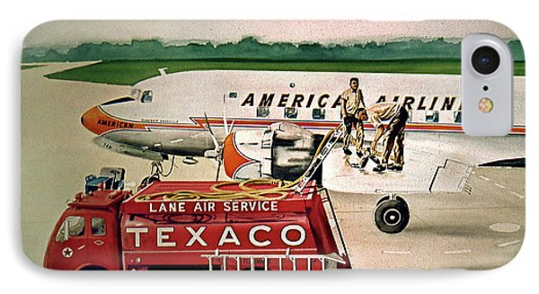 American Dc-6 At Columbus IPhone Case by Frank Hunter