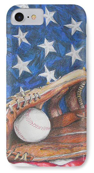 American Dream IPhone Case by Rob Monte