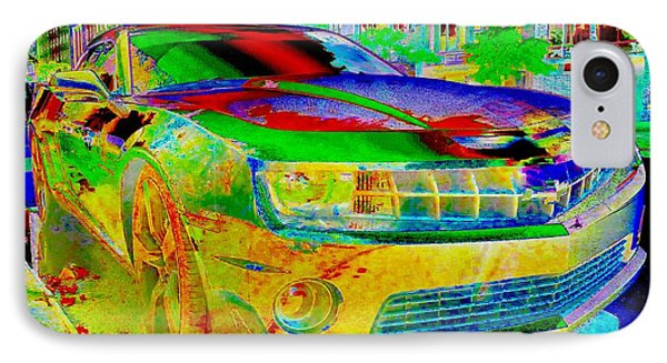 IPhone Case featuring the mixed media American Dream by Rogerio Mariani
