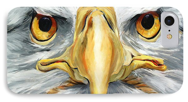 American Eagle - Bald Eagle By Betty Cummings IPhone Case by Sharon Cummings
