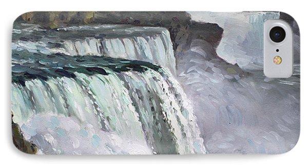 American Falls Niagara Phone Case by Ylli Haruni
