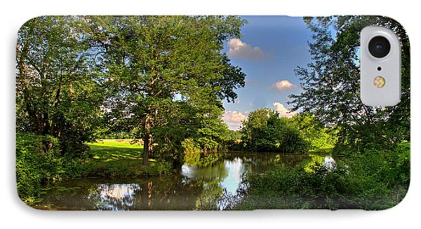 American Farm Pond IPhone Case