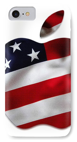 American Flag Apple IPhone Case by Marvin Blaine