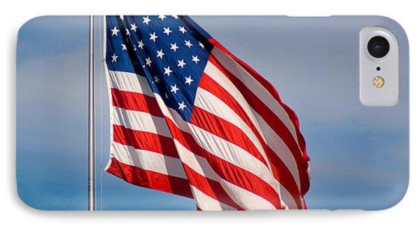 American Flag Phone Case by Benjamin Reed