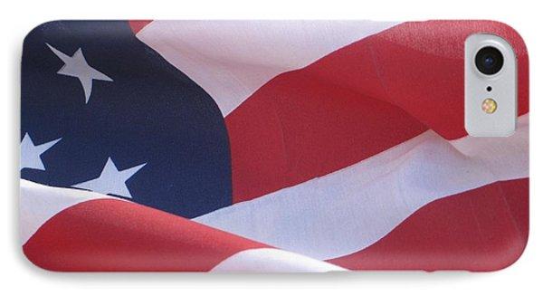 American Flag   IPhone Case by Chrisann Ellis