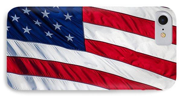 American Flag Phone Case by Leslie Banks