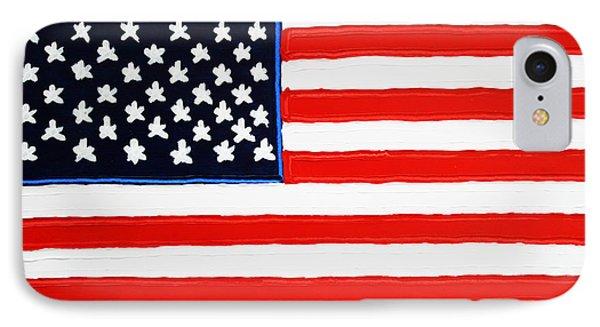 American Flag Phone Case by Matthew Brzostoski