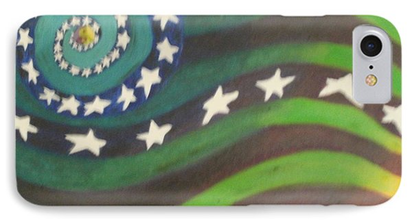 American Flag Reprise IPhone Case