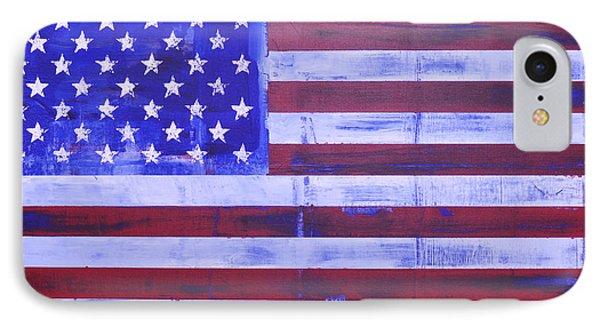 American Flag Phone Case by Sean Keil