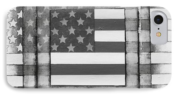 American Flag IPhone Case by Steve  Hester